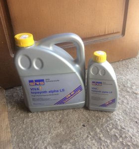 Моторное масло SRS ViVA 1 topsynth alpha LS 5W40