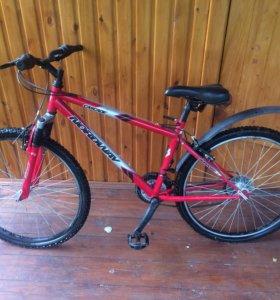 Горный велосипед Nordway + новый переключатель