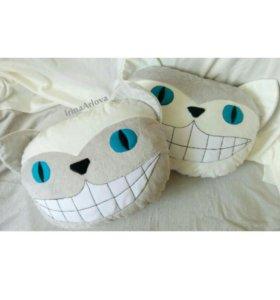 Чеширский кот подушка