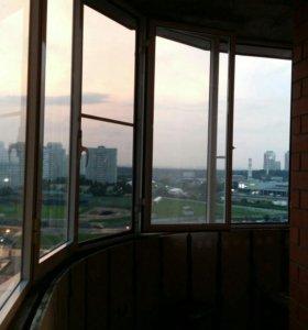 Окна бу балконные