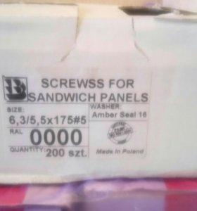 Саморезы для сэндвич-панелей