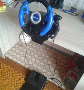 Игровой руль Defender MX-V9 Vibration