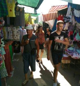 Торговая площадь на центральном рынке