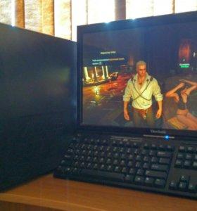 Игровой 4-ядерный, видео GeForce GTX650 1Гб