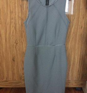 платье полосатое Warehouse