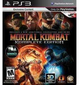 Mortal Kombat для ps3