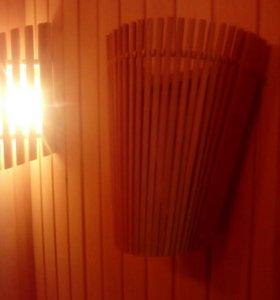 Абажур для светильника в сауну