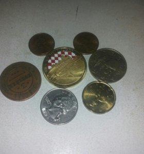 Коллекционые монеты