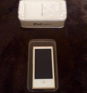 Apple iPod nano 16 гб золотистый
