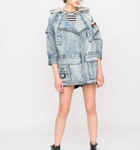 Джинсовая женская куртка, размер 46-48, новая