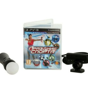 Ps3, Набор для PlayStation - Move+PS Eye+диск