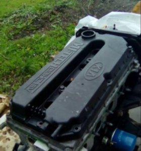 Двигатель на КИА спектра 1.6