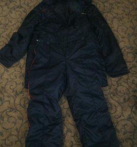 Полицейские зимний бушлат и ватные штаны