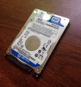 HDD жесткий диск Western Digital WD5000LPVX 500 Гб
