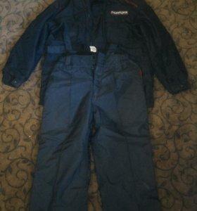 Полицейская димисезонная куртка со штанами