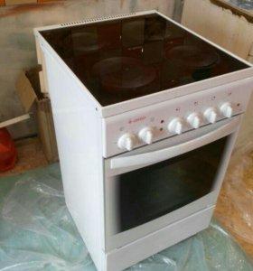 Электро плита с духовкой