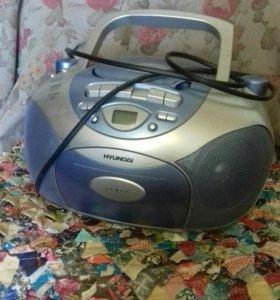 Магнитофон с дисководом