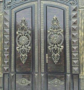 Ворота двери ограды и.т.д