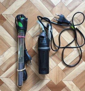 Фильтр и нагреватель