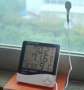 ЖК-Цифровой Термометр Гигрометр HTC-2