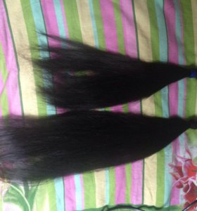 Волосы натуральные 65 см 100 капсул и 45см 90 капс