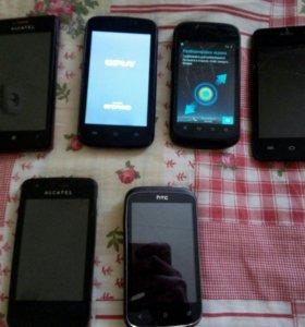 Телефоны и планшеты с дефектами