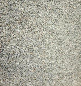 Шебёнка,песок,цемент в мешках