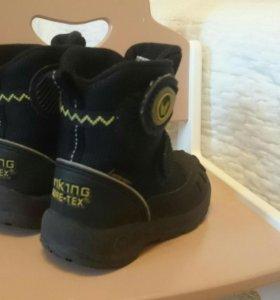 Зимние ботинки Viking Gore Tex 21 р