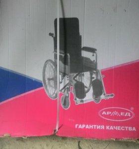 Инвалидная коляска новая в коробке,  возможно торг