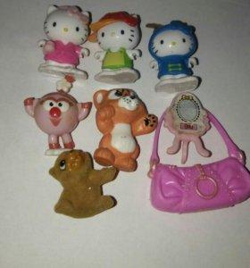 Набор игрушек киндер