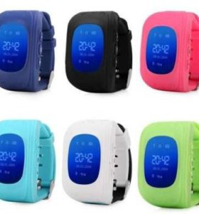 Детские часы-телефон с GPS трекингом Q 50
