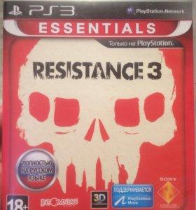 Диск игра Resistance 3
