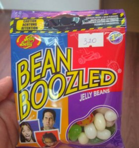 Драже Jelly Belly Bean Boozled, пакет 54г