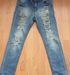Брюки и джинсы на худенькую девушку