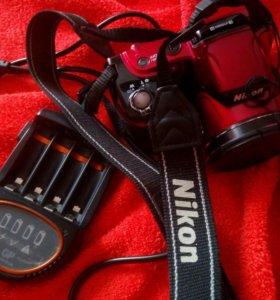 Фотокамера Nikon фотоопарат+ зарядное устройство