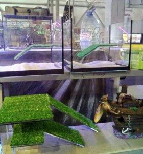 Островки в аквариум для черепах