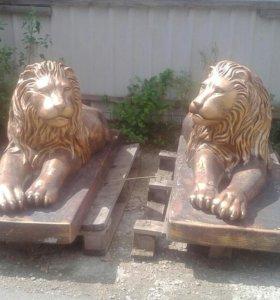 Львы из бетона,