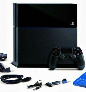 PlayStation 4+аксессуары+игры