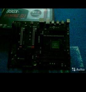 Продам материнскую плату гигабайт G1 Gaming 990x