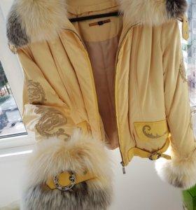 Куртка (мех песец)