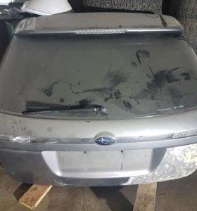 Задняя крышка багажника субару легаси