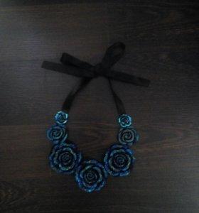 Массивное ожерелье