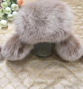 Зимняя шапка из натурального меха