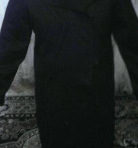 Халат черный из плотного материала разм.52/3-4рост