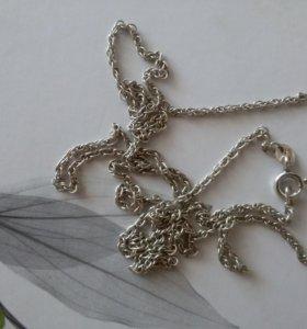 Цепочка ( серебро ) 60 см