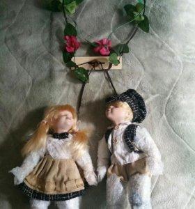 Фарфоровые мягконабивные куклы!
