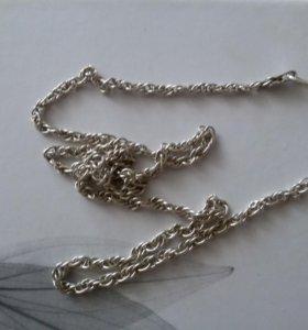Цепочка ( серебро ) 34 см
