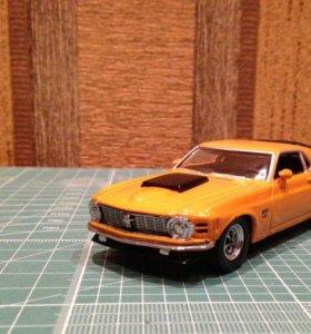 Matchbox Ford Mustang boss 429 1970г 1/43