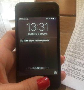 Айфон 4 s 16 память