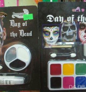 Набор грима для лица на хэллоуин